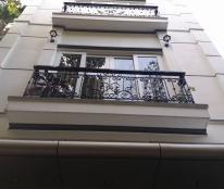 Cần bán nhà ngõ phố Bà Triệu, dt 33m2 x 5 tầng, ngõ 4m, nội thất đẹp.