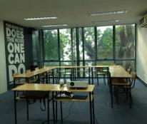Cho thuê văn phòng tại mặt phố Phan Huy ích, 25m2 – 60m2-90m lh 093.174.3628