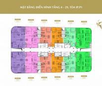 Cần tiền bán cắt lỗ căn 09 tầng 16 CC 360 Giải Phóng, diện tích 78.8m2, giá 26tr/m2. 0934542259.
