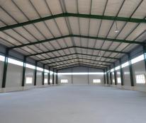 Cho thuê nhà xưởng ngành dệt nhuộm 2,500m2.