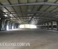 Cho thuê xưởng đẹp giá tốt tại Bắc Giang, DT 4005m2