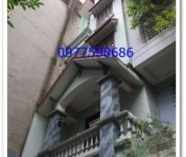 Cho thuê nhà trong ngõ quận Cầu Giấy 100m2 đất,80m2 nhà x 5 tầng