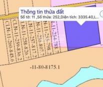 Bán đất xã Long Đức, huyện Long Thành, từ 800m2 - 3000m2 LH: 0981 96 56 96