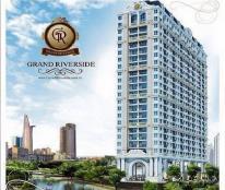 Bán căn hộ Grand Riverside MT Bến Vân Đồn Q4 view sông Q1 - Chỉ TT 30% + Tặng 250tr + CK 5% + LS 0%