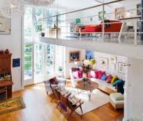 Cho thuê căn hộ vị trí cực tốt Q2, tiện ra vào trung tâm thành phố, có gác lửng kiểu Singapore