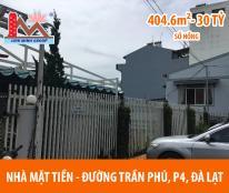 Cần bán gấp nhà đang kinh doanh  đường Trần Phú – TP. Đà Lạt