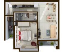 Căn hộ nhận nhà trước tết, đối diện PICO Cộng Hòa, 1.2 tỷ/ căn, TT 30% sở hữu