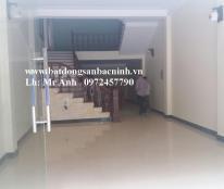 Cho thuê nhà mới 4 tầng 4 phòng khép kín Đại Phúc, TP.Bắc Ninh
