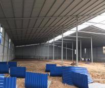 Chính chủ cho thuê kho xưởng 500m2 tại Tân Lập, Đan Phượng, Hà Nội