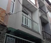 bán gấp nhà hẻm 7m nguyễn văn đậu, phường 11, Q: Bình Thạnh, DT: 4,3x18m, 3L