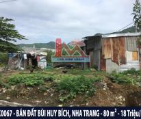 KK0067 - Bán đất Bùi Huy Bích, Hòn Xện, Phường Vĩnh Hòa, TP.Nha Trang