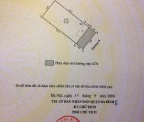Bán nhà mặt hồ Mai Anh Tuấn 60m2, mặt tiền 5m, giá 15 tỷ