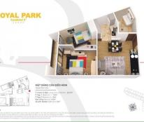 Chính chủ bán chung cư Royal Park, phường Suối Hoa, TP Bắc Ninh