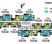 Bán căn 2 phòng ngủ, căn 01, căn 02, tòa C3, Vinhomes Trần Duy Hưng, tòa đẹp nhất dự án