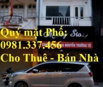 Bán nhà mặt phố Đào Tấn, DT: 158m2, MT: 6m, 215tr/m2, 0981337456