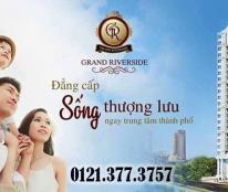 Bán căn hộ 3PN Grand Riverside, Q4 - DT 105m2, view sông bến nghé, giá 3.6 tỷ đã VAT + 2% PBT