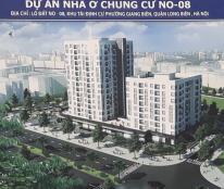 CH DT từ 65m2 - 72m2, 2PN KĐT Việt Hưng, giá từ 19 tr/m2, gồm VAT, full NT, đối diện với CT15