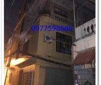 Cho thuê nhà trong ngõ khu vực Nguyễn Trãi,Thanh Xuân diện tích 45m x 4 tầng
