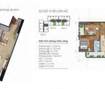 Cần bán gấp căn hộ 86.8m2 (2pn) Ecolife Tây Hồ, căn 08 tháp B giá: 26tr/m2, LH: 0978967149 (mtg)