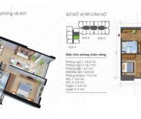 Bán căn hộ CC Ecolife Tây Hồ, căn 01 tòa A diện tích 92,8m2 (2PN), giá 26tr/m2, 0963565236