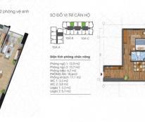 Chính chủ bán căn 1605 tòa B, chung cư Ecolife Tây Hồ, DT 88m2, 2PN, giá rẻ, cô Liên 0963565236