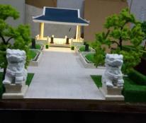 Làm mô hình kiến trúc mộ gia tộc Sala Garden