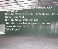 Cho thuê kho xưởng 300m2 tại Phường Võ Cường, TP.Bắc Ninh