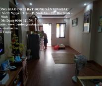Cho thuê chung cư CT3 Cát Tường tại trung tâm TP.Bắc Ninh