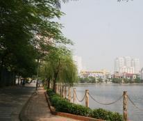 Bán biệt thự Vip mặt hồ Văn Quán, Hà Đông, vị trí đẹp.
