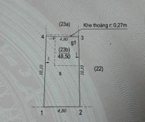 Bán đất Đình Thôn 49m ngõ gần 4m giá 2.9 tỷ
