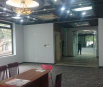 Văn phòng cho thuê mặt phố Chùa Láng, Phù hợp làm tt tiếng anh, VP làm việc, dt 30-120m2