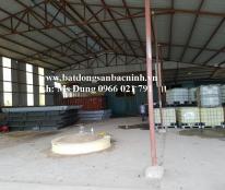 Cho thuê phân xưởng rộng 1000m2 tại Xuân Ổ, TP.Bắc Ninh
