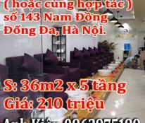 Chính chủ sang nhượng cửa hàng nail hoặc nhượng một nửa tại 143 Nam Đồng, Đống Đa, Hà Nội.