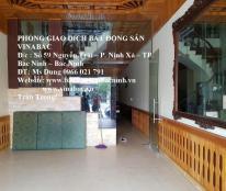 Cho thuê nhà 3 tầng đường Lý Thần Tông, khu Hub, TP.Bắc Ninh