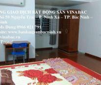 Cho thuê nhà 5 phòng, Phường Võ Cường, Tp.Bắc Ninh