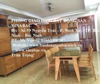 Cho thuê nhà 4 tầng gồm 5 phòng khép kín khu k15, TP.Bắc Ninh