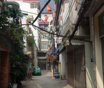 Tổ ấm bình an, nhà khu Trương Định, Tân Mai 68m2 x5 tầng, gara ô tô. Giá bèo 5,2 tỷ.