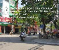 Cho thuê nhà 4 tầng mặt đường Ngô Gia Tự tại trung tâm TP.Bắc Ninh