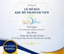 Mở bán dự án River View ngày 26/11 nhanh tay liên hệ để nhận được chiếc khấu lớn ????