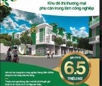 Bán đất kinh doanh ngay phụ cận khu công nghiệp Giang Điền trên trục đường đi sân bay Long Thành