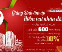Bán căn hộ cao cấp Him Lam Phú An, giá có thuế 1.76tỷ, rẻ hơn chủ đầu tư, LH 096 3456 837