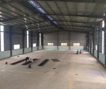 Cho thuê nhà xưởng Hà Nội tại Phúc Thọ 1100m2 mặt QL32 điện nước tốt