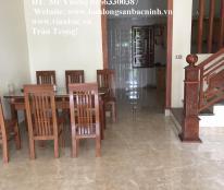 Cho thuê nhà 4 tầng, 5 phòng tại Ngã 6 mới hoàn thiện tại trung tâm TP.Bắc Ninh