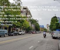 Cho thuê nhà 2 tầng gần cột đồng hồ, Nguyễn Trãi, TP.Bắc Ninh