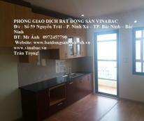 Cho thuê căn hộ chung cư Cát tường CT4, tại trung tâm TP.Bắc Ninh