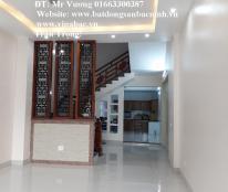 Cho thuê nhà 4 tầng 5 phòng mới hoàn thiện đường Hoàng Hoa Thám, Tp.Bắc Ninh