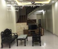 Cho thuê nhà 4 tầng, 4 phòng đường Hoàng Hoa Thám, TP.Bắc Ninh