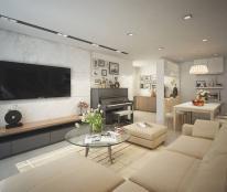 Cho thuê căn hộ tại 165 Thái Hà, diện tích 70m2, 2PN, đồ cơ bản. Gía 9 triệu/tháng