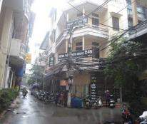 Cho thuê nhà mặt ngõ ô tô 55 m2, 4 tầng phố Thái Hà, Đống Đa. Giá 18 tr/th