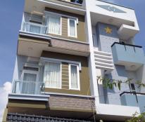 Bán nhà hẻm 6m Âu Cơ, p9, Tân Bình, 4x17m, 4 tầng mới 100%